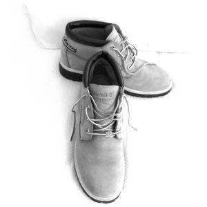Timberland light blue boots